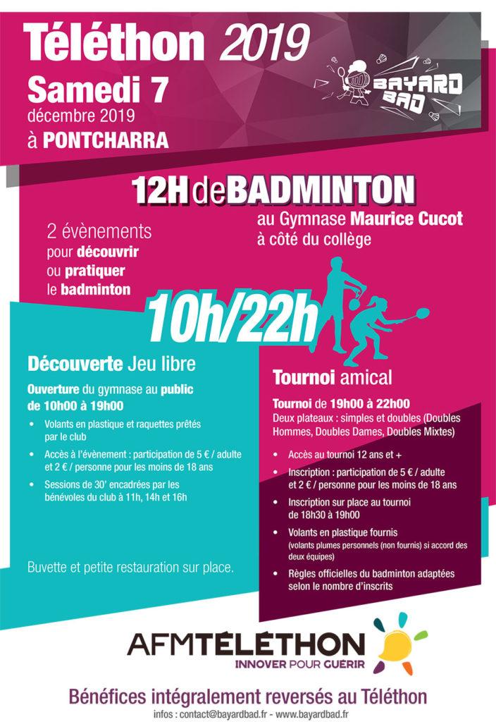Bayard Bad Téléthon 2019